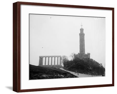 Calton Hill--Framed Art Print