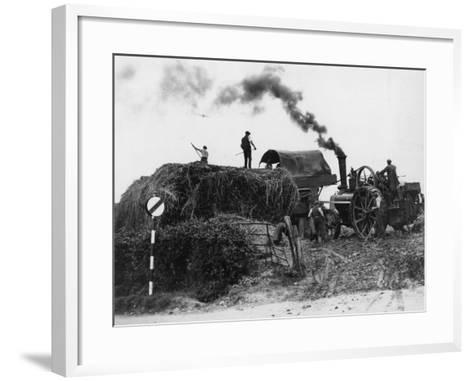 Making Hay--Framed Art Print