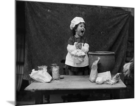 Happy Cook--Mounted Photographic Print