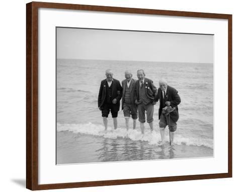 Old Timers--Framed Art Print
