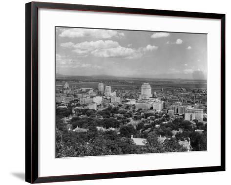 Montreal--Framed Art Print