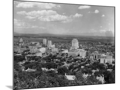 Montreal--Mounted Photographic Print