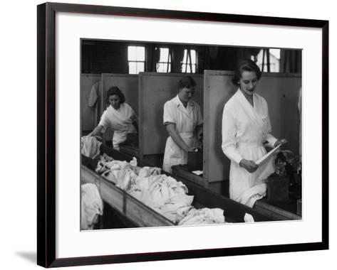 Laundry Workers-Chaloner Woods-Framed Art Print