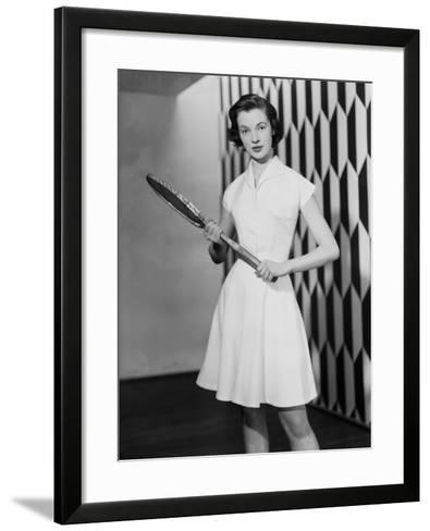 Tennis Outfit-Chaloner Woods-Framed Art Print
