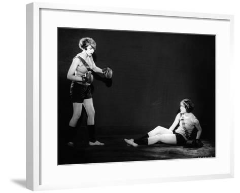 Boxing Women--Framed Art Print