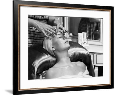Face Massage-Chaloner Woods-Framed Art Print