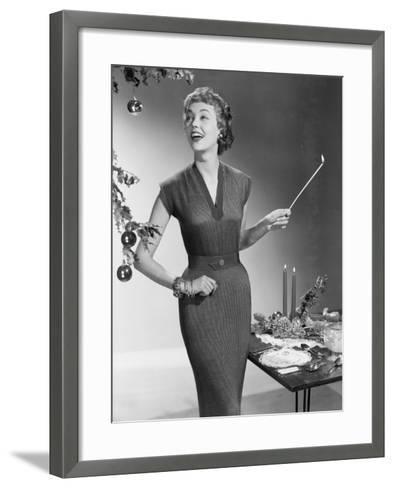 Christmas Dress-Chaloner Woods-Framed Art Print