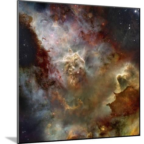 Deep Space Nebula-Steve Allen-Mounted Photographic Print