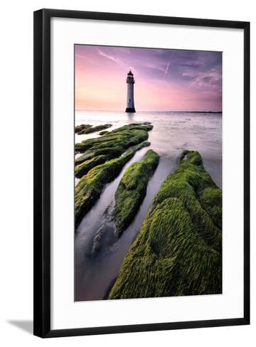 Perch Rock Lighthouse-Paul Bullen-Framed Art Print