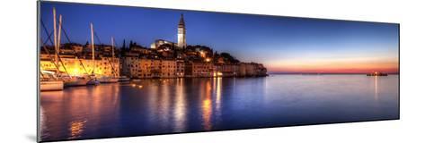 Rovinj Blue Hour Sunset / Istria, Croatia-Copyright NielsKristian Photography-Mounted Photographic Print