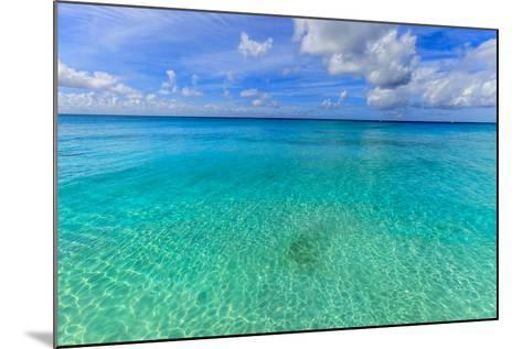 Crystal Clear Water of Barbados-Flavio Vallenari-Mounted Photographic Print