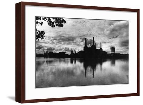 Battersea Landmark-Evening Standard-Framed Art Print