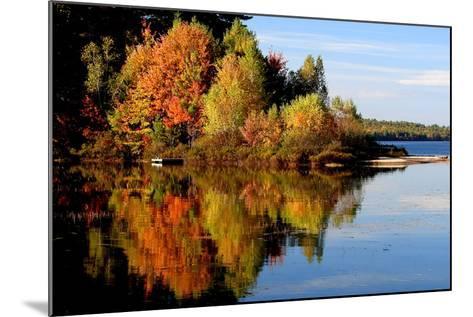 Thompson Lake-photo by Bob Travis-Mounted Photographic Print