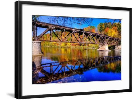 Newaygo State Park - Explored!-Michelle Leale/Total Photography LLC-Framed Art Print