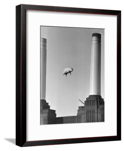 Pink Floyd's Pig-Keystone-Framed Art Print