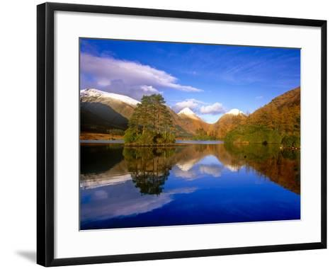 Glen Etive, Glencoe. Scottish Highlands-Kathy Collins-Framed Art Print