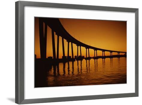 Coronado Bridge-Harvey Meston-Framed Art Print