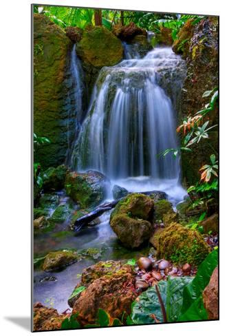 Waterfall-Patti Sullivan Schmidt-Mounted Photographic Print