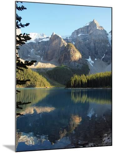 Moraine Lake in Banff National Park-Vienna mornings-Mounted Photographic Print