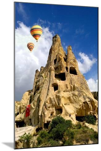 Cappadocia Houses-M Reza Faisal-Mounted Photographic Print