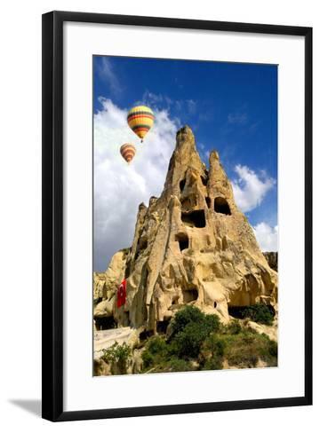 Cappadocia Houses-M Reza Faisal-Framed Art Print