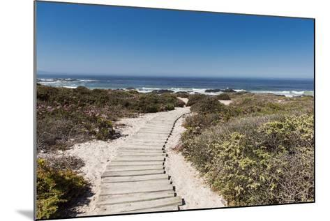 Boardwalk Leading towards the Beach-Eric Audras-Mounted Photographic Print