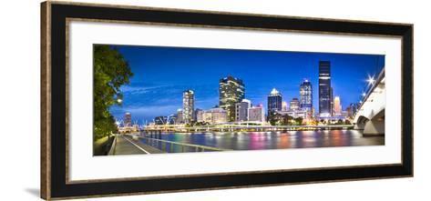 Southbank Boardwalk-Brisbane Architectual and Landscape Photographer-Framed Art Print