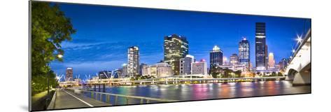 Southbank Boardwalk-Brisbane Architectual and Landscape Photographer-Mounted Photographic Print