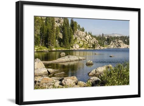 Beartooth Pass, Wyoming and Montana--Framed Art Print