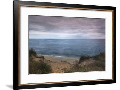 Beach at Highland Lighthouse, North Truro, Cape Cod, Massachusetts, USA-Alberto Biscaro-Framed Art Print