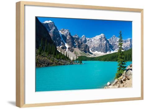 Moraine Serenity-Judd Patterson-Framed Art Print