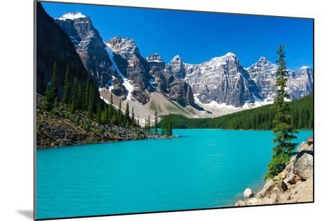 Moraine Serenity-Judd Patterson-Mounted Photographic Print