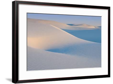 White Sands Natl Mon at Sunrise-Russell Burden-Framed Art Print