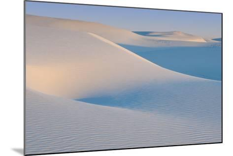 White Sands Natl Mon at Sunrise-Russell Burden-Mounted Photographic Print