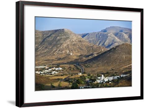 Volcanic Landscape in Cabo De Gata.-Gonzalo Azumendi-Framed Art Print