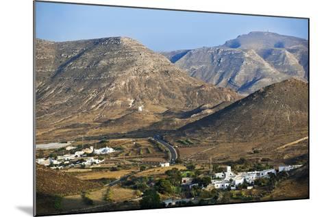 Volcanic Landscape in Cabo De Gata.-Gonzalo Azumendi-Mounted Photographic Print