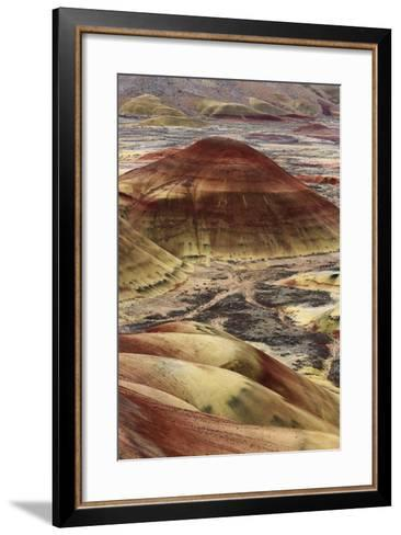 Overlook Trail, Painted Hills-Don Smith-Framed Art Print