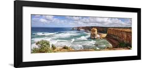 The Twelve Apostles. Parque Nacional Port Campbell-Ra??l Barrero photography-Framed Art Print