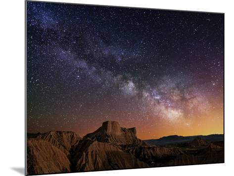 Milky Way over the Desert-Inigo Cia-Mounted Photographic Print