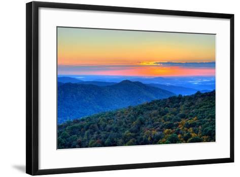 Blue Ridge Mountains-Nikographer [Jon]-Framed Art Print