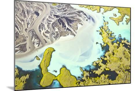 Iceland Aerial View-Werner Van Steen-Mounted Photographic Print