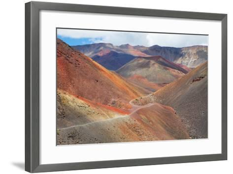 Haleakala National Park-M Swiet Productions-Framed Art Print