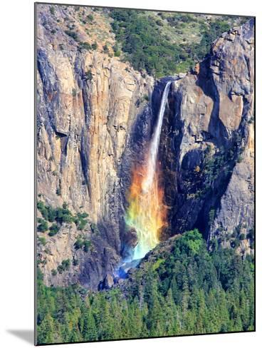 Rainbow Fall-David Toussaint-Mounted Photographic Print