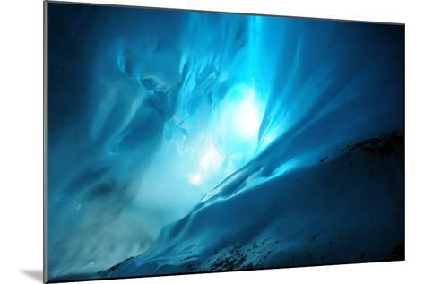 Ice Cave Lighting-Piriya Photography-Mounted Photographic Print