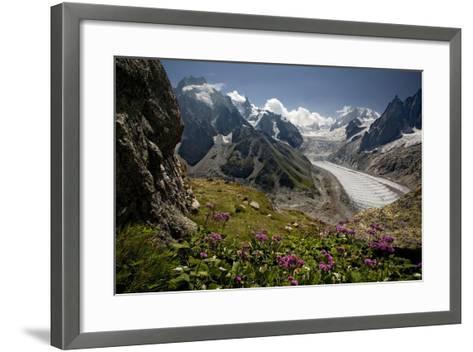 Glacier Du Tacul-BenC-Framed Art Print