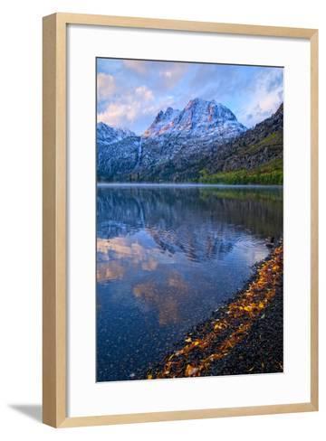 Sunrise at Silver Lake, California, Usa, September 2010-Bill Wight-Framed Art Print