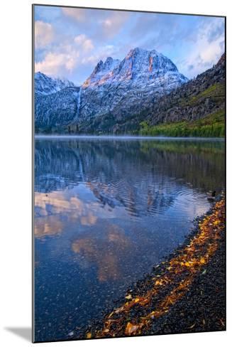 Sunrise at Silver Lake, California, Usa, September 2010-Bill Wight-Mounted Photographic Print