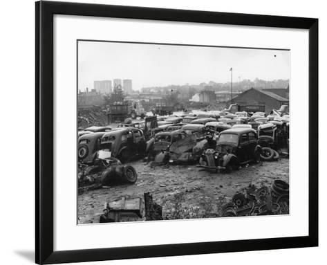 Scrap Yard-Gerry Dalton-Framed Art Print