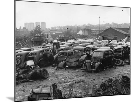 Scrap Yard-Gerry Dalton-Mounted Photographic Print