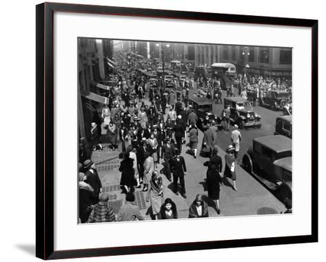 New Yorkers-Hulton Archive-Framed Art Print